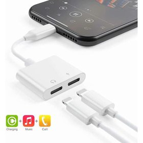USB C Audio Charge Adapter, 2 in 1 Splitter Type C