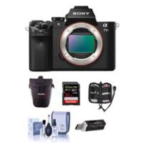 Sony Alpha a7II Mirrorless Body with Free Accessor