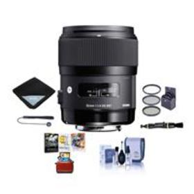 Sigma 35mm f/1.4 DG HSM ART Lens for Canon EOS Cam