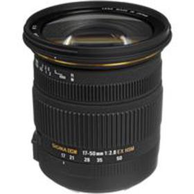 Sigma 17mm - 50mm f2.8 EX DC OS HSM Lens f/Canon -