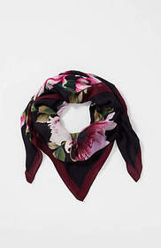Compassion Fund Artisanal Flowers Square Scarf