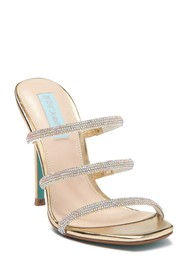 Betsey Johnson Aubri Embellished Strappy Sandal