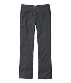 LL Bean Women's Comfort Trail Pants, Lined