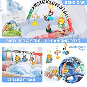 2 in1 Baby Crib Mobiles Bed Stroller Carriage Bar