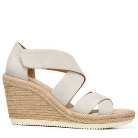 Dr. Scholl's Women's Visitor Espadrille Wedge Sand
