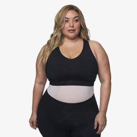 Lola Getts Plus Size Mesh Tank