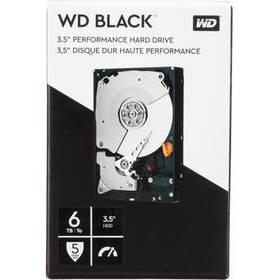 "WD 6TB Black 7200 rpm SATA III 3.5"" Internal HDD ("