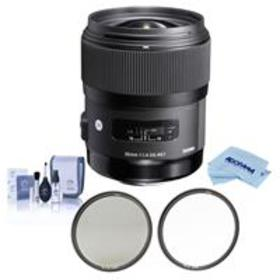Sigma 35mm f/1.4 DG HSM ART Lens for Canon DSLRs -