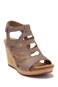 Sofft Chamblee Leather Wedge Sandal