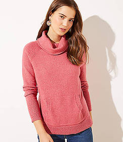 Turtleneck Pocket Sweater