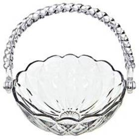 Four Seasons Home Kim Glass Diamond Candy Bowl