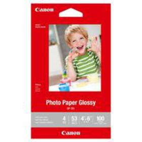 "Canon GP-701 Glossy Photo Paper (4x6""), 100 Sheets"