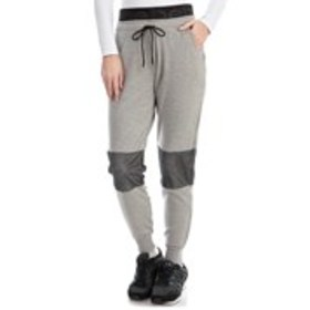 BEBE SPORT Logo Waist Active Joggers with Mesh Acc