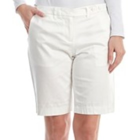 THE LIMITED Button Accent Sateen Shorts