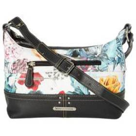 Stone Mountain Printed Floral Leather Hobo