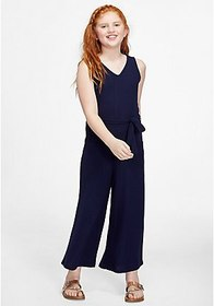 Justice Ribbed Sleeveless Jumpsuit