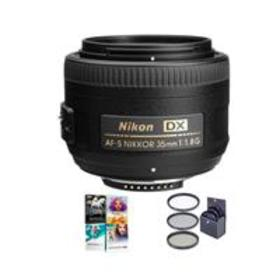Nikon 35mm f/1.8G AF-S DX NIKKOR Lens for DSLR Cam