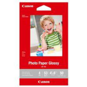 "Canon GP-701 Glossy Photo Paper (4x6""), 50 Sheets"