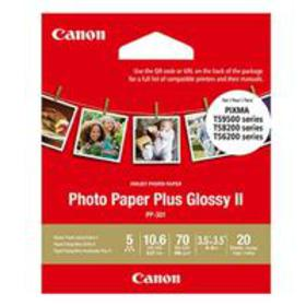 """Canon PP-301 Glossy Photo Paper (3.5 x 3.5""""), 20 S"""