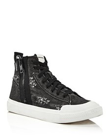 Diesel - Men's S-Astico Mid-Top Sneakers