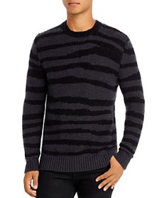 7 For All Mankind - Zebra Modal Crewneck Sweater
