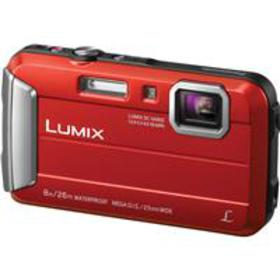Panasonic Lumix DMC-TS30 Digital Camera, Red
