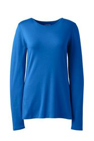 Lands End Women's Plus Size Lightweight Fitted Lon