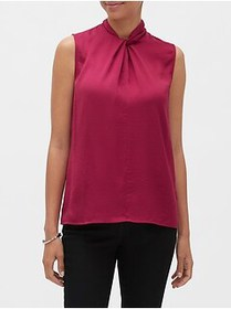 Factory Twist-Neck Top