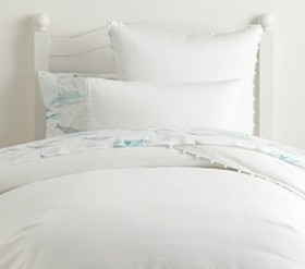 Pottery Barn Pom Pom Duvet Cover