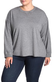 C & C California Ali Salt Wash Pullover (Plus Size