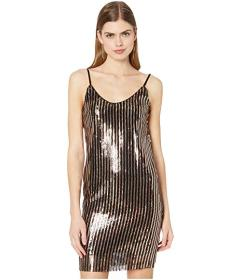 Bebe Sequence Slip Dress