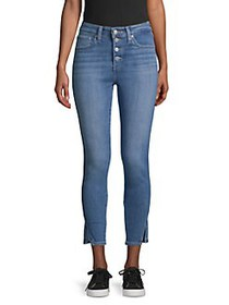 Levi's High-Rise Skinny Cropped Jeans BACK TO BACK