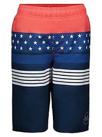 Under Armour Boy's Stars & Stripes Volley Shorts A