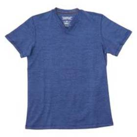 Young Mens Company 81® Short Sleeve Marled V-Neck