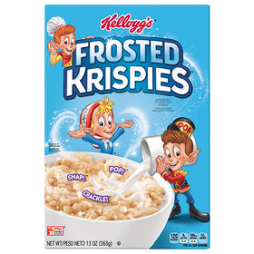 Rice Krispies Cereal Frosted