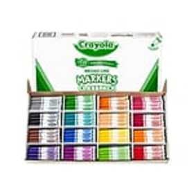 Crayola Kids Markers, Broad Line, Assorted Colors,