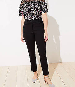 High Waist Skinny Ankle Pants in Curvy Fit