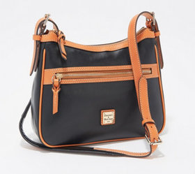 """As Is"" Dooney & Bourke Smooth Leather Piper Cross"