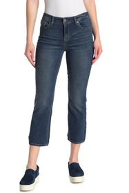 William Rast Mid-Rise Crop Bootcut Jeans