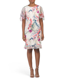 NICOLE MILLER NEW YORK Floral Print Dress