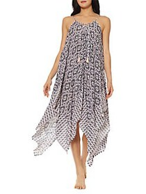 Jessica Simpson Venice Beach Printed Lace-Front Co