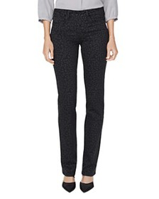 NYDJ - Marilyn Straight-Leg Jeans in Whisper Cat