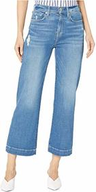 7 For All Mankind Cropped Alexa in Northstar