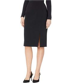 Tahari by ASL Pencil Skirt with Slit