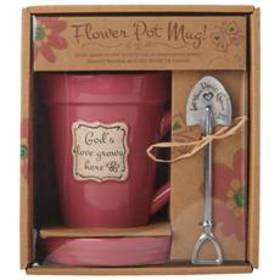 God's Love Grows Flower Pot & Mug
