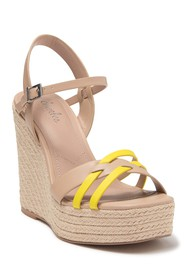 Charles David Dulce Crisscross Espadrille Wedge Sa