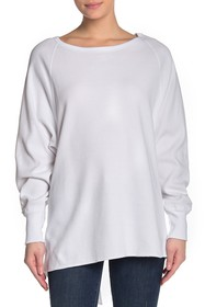 Urban Outfitters Amelia Oversized Thermal Shirt