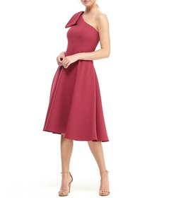 Gal Meets Glam Collection Yvonne Bow One Shoulder