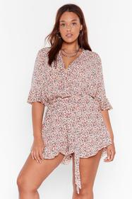 Nasty Gal White Plant Ignore the Signs Plus Floral