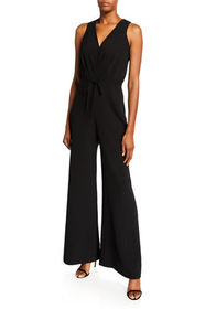 Likely Casey V-Neck Sleeveless Wide-Leg Jumpsuit